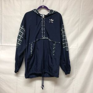Rare!! Adidas windbreaker awesome design